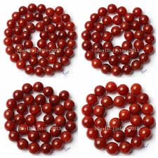 """8.10.12.14mm Cracked Round Shape Red Color Agate Onyx Loose Beads Strand 15"""""""