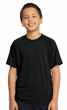 Sport-Tek Youth Performance Casual Wicking Crewneck T-Shirt, 12-Pack. YST700