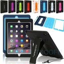 Hybrid Rubber Shock Proof Heavy Duty Hard Case Stand Cover Skin for Apple iPad