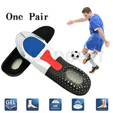ORTHOTIC FLEXFLOW HIGH ARCH SUPPORT PREMIUM GEL HEEL PAD INSOLES FLAT FEET NEW