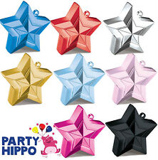 Star Shaped Balloon Weights Qualatex Wedding Party Supplies Decorations 8 Colour
