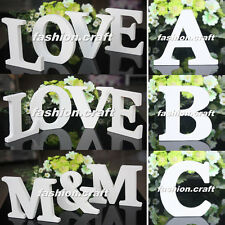 Nice Freestanding Wood Wooden Letters Alphabet Bridal Wedding Party Table Decor