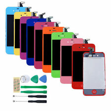 For iPhone 4 or 4S Replacement LCD Touch Screen Digitizer Assembly + Tool kit