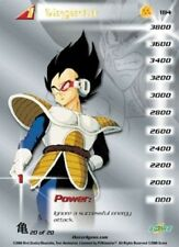 *184* Vegeta (level 1) - Saiyan Saga High Tech Dragon Ball Z Card CCG Foil