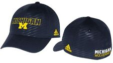 Michigan Wolverines Adidas NCAA 2014 Sideline Travel Flex Hat