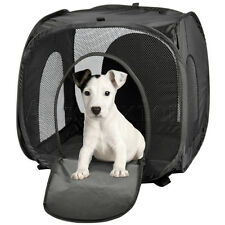 Pet Carrier Crate - Dog Cat House Indoor Outdoor Travel Portable 4 SIZE Free Bag
