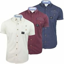 Mens Shirt By Crosshatch Casual 'Clackers' Short Sleeve