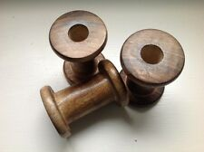 Vintage Wooden Spools Bobbins for Ribbon Lace Thread - House Doctor