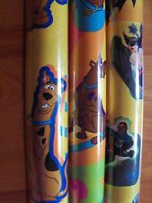 "Ambassador Cartoon Network HTF Kids Gift Wrap Wrapping Paper 15 sq ft 30"" Rolls"