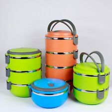 Multi-Layer Stainless Steel Insulation Lunch Box Food Container 3 color 4 size