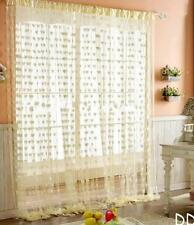 DI US Heart Line Tassel String Door Curtain Window Room Divider Curtain Valance