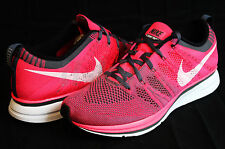 Nike Flyknit Trainer+ Pink White Grey Running Training 532984 611 Msrp $150