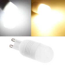G9 2W 3W 80lm 6 SMD 5060 LED Cool Warm White Lights Ceramic Bulb Light 110V 220V