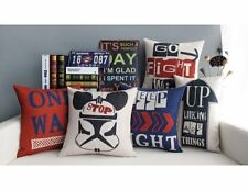 Arrows One-way Cotton Linen Decor Throw Pillow Case Cushion Cover Square 18""