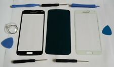 Front Glass Repair Lens Screen for Digitizer LCD Samsung Galaxy S5 Black White
