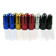 10pcs Presta CNC Bicycle Valve Caps French High-Pressure Anodized Dust Cover HOT