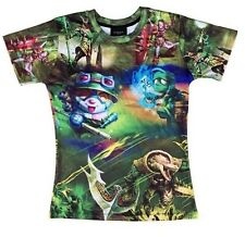High Quality 3D LOL League of Legends Men's Premium T-Shirt Teemo Short Sleeves