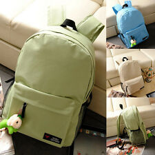 Girl New Women's Canvas Travel Satchel Shoulder Bag Backpack School Rucksack
