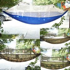 Camouflage Portable Camping Hammock Jungle Mosquito Net Tent Outdoor Single One