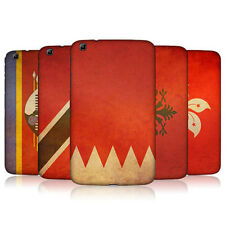 HEAD CASE VINTAGE FLAGS SET 6 BACK COVER FOR SAMSUNG GALAXY TAB 3 8.0 T315