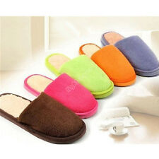 v Hot Cute Women Lady Men Lovers Anti slip Slippers Indoor House Soft Warm 06