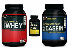 Gold Standard Whey Casein Combo with Opti-Men, Optimum Nutrition, Protein, All