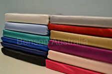 NEW ARRIVAL Pair of Luxury Silky Satin Pillowcases Sham Standard Size 12 Colours