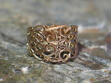 Ring BRONZE Viking Medieval Celtic Germanic medieval ornamentation