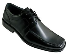 Men's Oxfords Formal Dress Shoe Black Man Made Upper Leather Milano  Style#4807