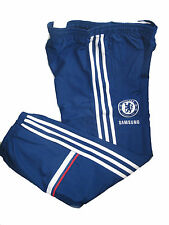 Chelsea FC Adidas childrens blue polyester  tracksuit bottoms 2013-14 G89716