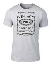 31st Birthday Gift Present Vintage 1983 Aged To Perfection Unisex Funny T-Shirt