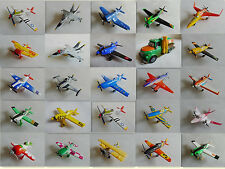100% Original Mattel Disney Pixar Planes 1:55 Metal Toy Planes Loose