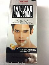 EMAMI FAIR AND HANDSOME FAIRNESS CREAM FOR MEN CLEARS HYPERPIGMENTATION SPOTS
