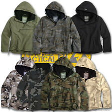 SURPLUS WINDBREAKER HOODED WATERPROOF ARMY MILITARY STYLE JACKET FLEECE LINED