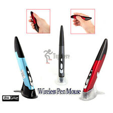 2.4GHz Wireless Optical Pen Mouse 500/1000DPI Presentation Kit f/ Android Mac PC