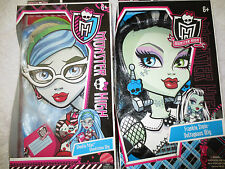 New Monster High Frankie stein Voltageaus,Ghoulia Yelps Ghoulicious Wig
