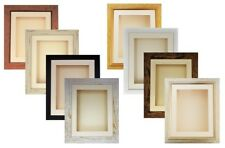 """3D 6x4"""" to 12x10"""" Memory Box Picture Photo Frames Casts Display 90mm/3.5"""" Deep"""
