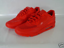 NIKE ALL RED AIR MAX 90 NIKEid  TAPED MESH UK 11.5 US 12.5 EUR 47 TRAINERS