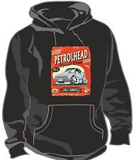 KOOLART PETROLHEAD SPEED SHOP RETRO FORD CAPRI 2.8i Unisex Hooded Top Hoodie