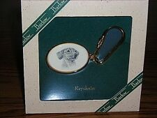 Barlow Designs~ Engraved Various Dog Head Key Chain~Retail for $24~NIB