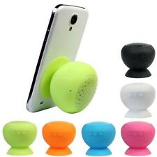 Waterproof Wireless Bluetooth Handsfree Mic Suction Speaker Shower Car Good DX