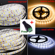 5M 12V 5630 Waterproof SMD White 300 LED Strip Light String Ribbon +DC Connector