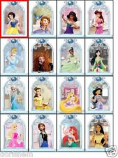 Edible Top- 16 Disney Princess Window Scenes -Wafer/ Icing -Cupcake Topper