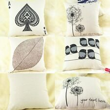 1 Pc 4 Patterns New Home Decorative Sofa Cushion Cover Throw Pillow Case Hot