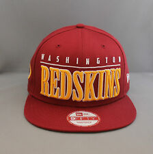 New Era 'Big Word NFL' Washington Redskins 9Fifty Snapback - Team *FREE UK DEL*