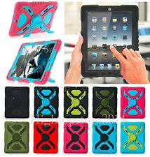 Pepkoo Defender Military Heavy Duty Survivor Stand Case For iPad 2/3/4 Air Mini