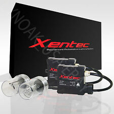 Xenon HID KIT Conversion 5000k 6000k 8000k 10000k 12000k Xentec Slim ballast Kit