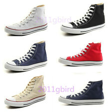 Girls ALL STARs Chuck Taylor Ox High Top Shoes Canvas Fashion Sneaker Size 5-11