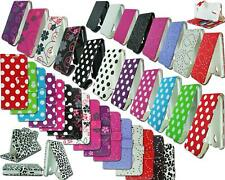 NEW STYLISH SLIM LEATHER FLIP WALLET PHONE CASE COVER POUCH FOR VODAFONE SMART 4