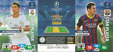 PANINI CHAMPIONS LEAGUE ADRENALYN XL 13/14 STAR PLAYERS PICK WHAT YOU NEED